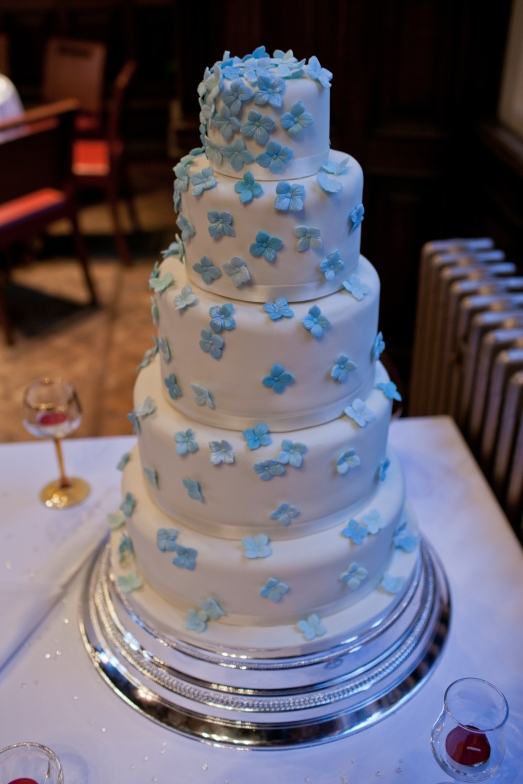 The Final Result! The Wedding Cake