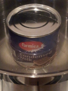 how to make doce de leit Simmer an unopened can of condensed in a pan of water for at least 2 and a half hours
