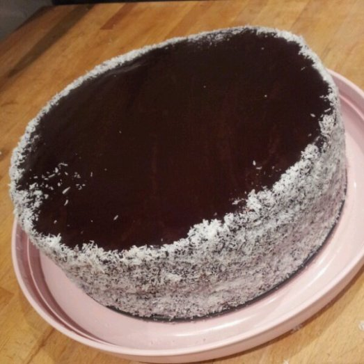 Lauren's Layered Lamington Cake