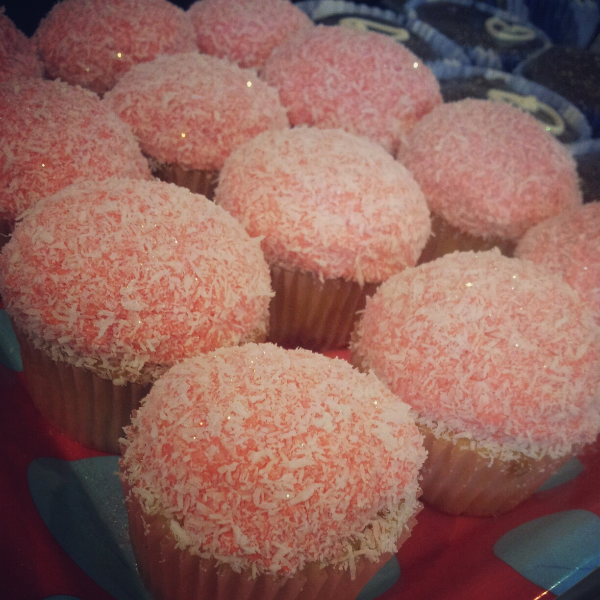Amaretto and Coconut Snowball cupcakes – my personal favourite. I ...