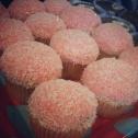 Amaretto and Coconut Snowball cupcakes