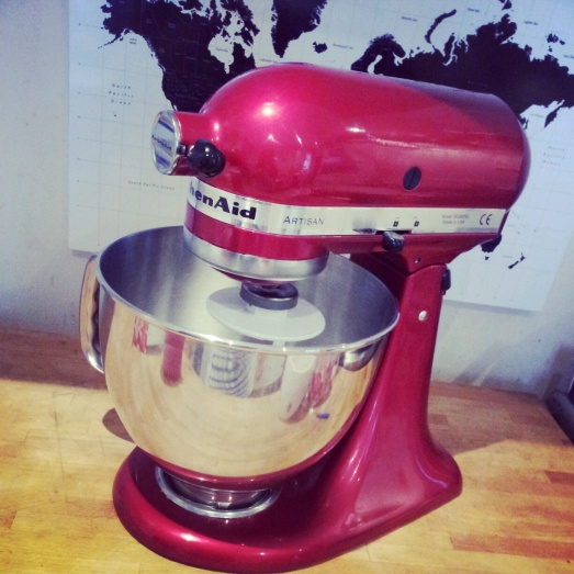 Introducing Joni my candy apple buttercream dream making machine Kitchenaid mixer