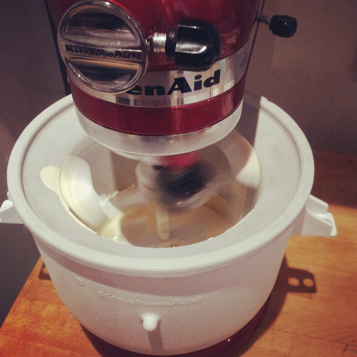 Coconut crazy homemade italian coconut gelato around - Gelato kitchenaid ...