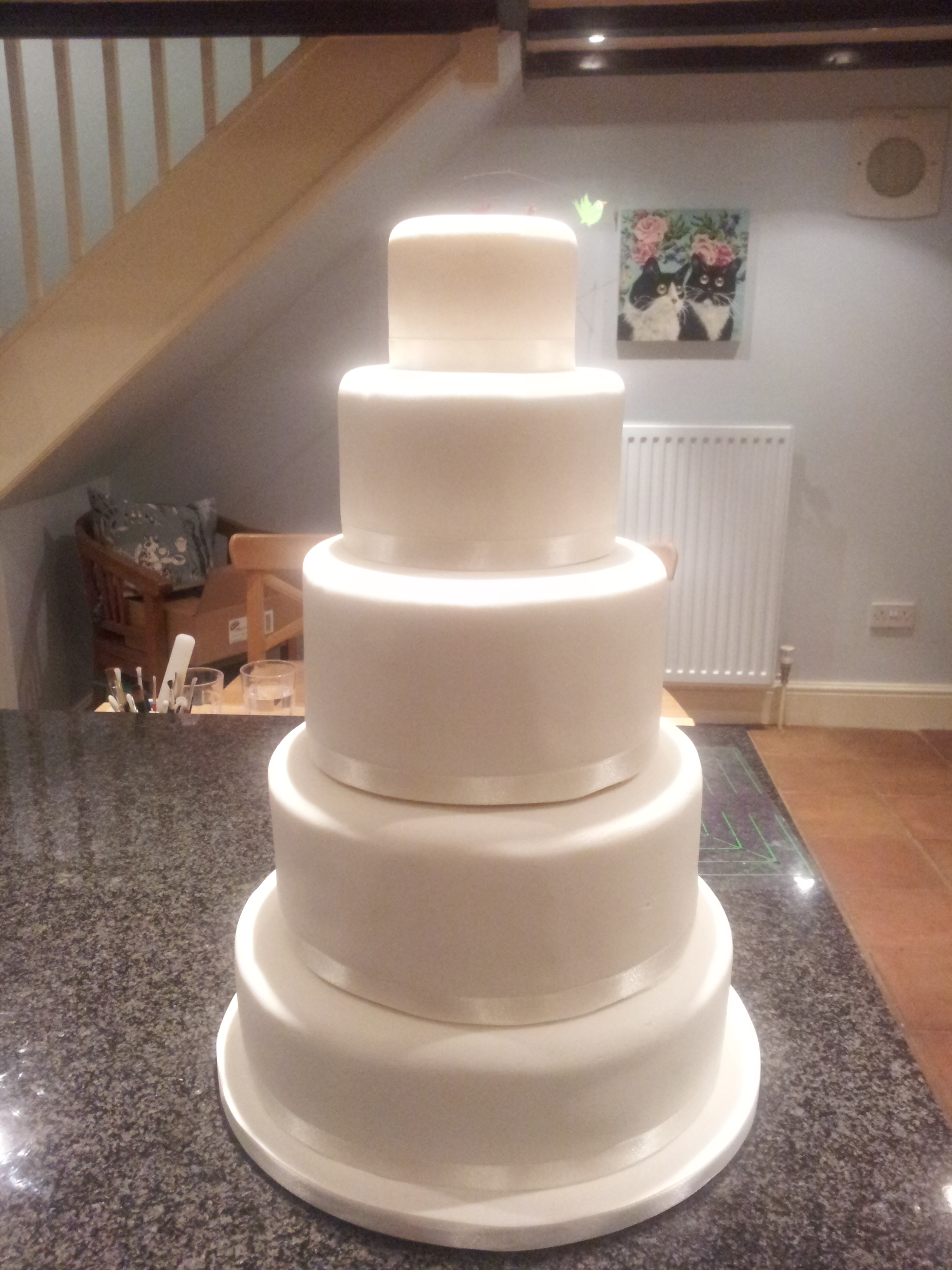 stacking fruit wedding cakes where to start when icing a 5 tier wedding cake around 20474