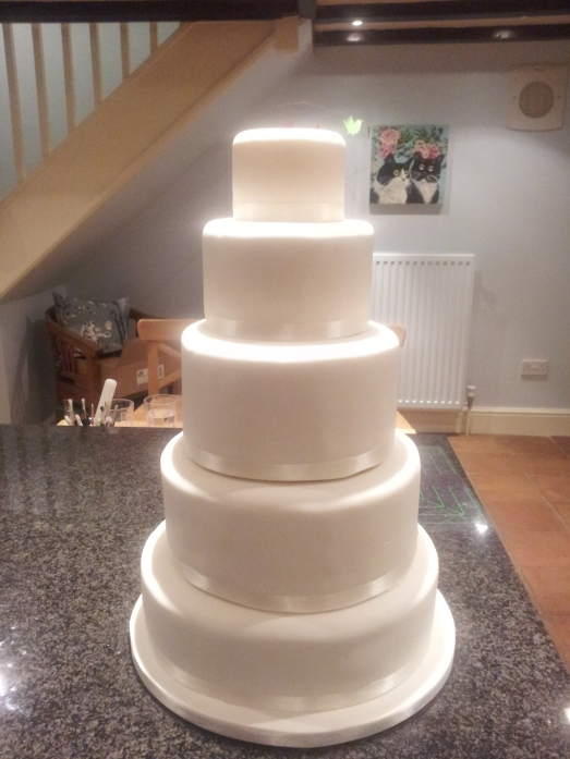 The Iced Wedding Cake