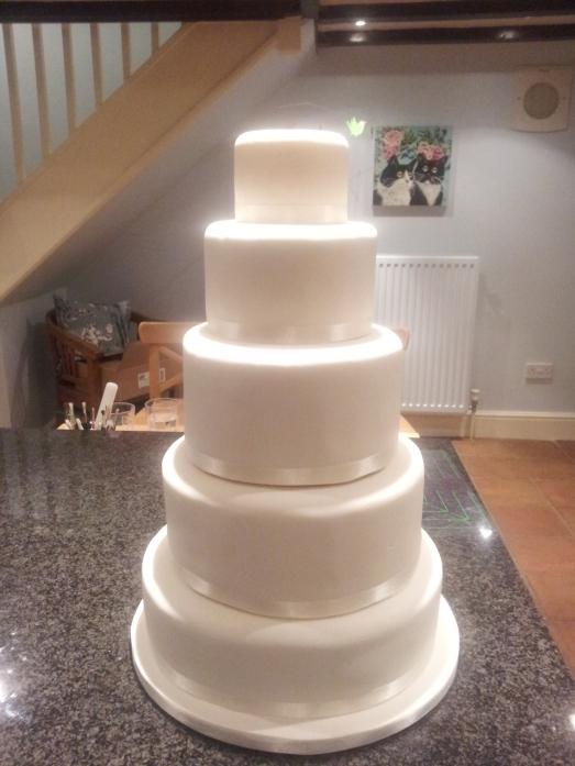 The Iced Wedding Cake