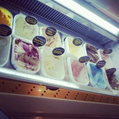 Where to start with such an amazing array of ice creams?? I want to try them all! Beckleberrys