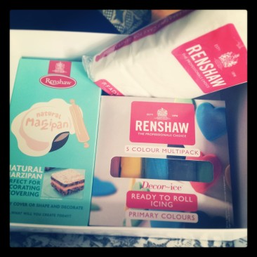 My box of Renshaw Icing Goodies