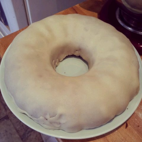Marzipaned bundt