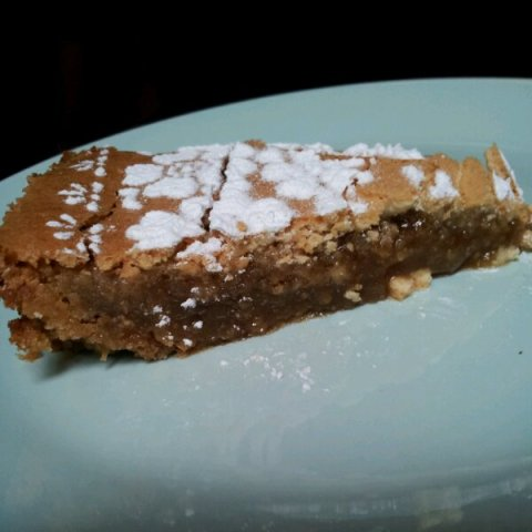 A slice of gooey Crack Pie