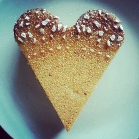 My orangey bakey heart
