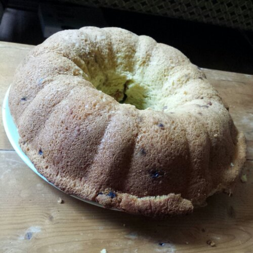 The Golden Coffee Cake