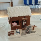 Daddy or Chips - The 3 little pigs by @cakepoppins