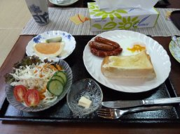 The Japanese English Breakfast - I'll have a salad with my toast please