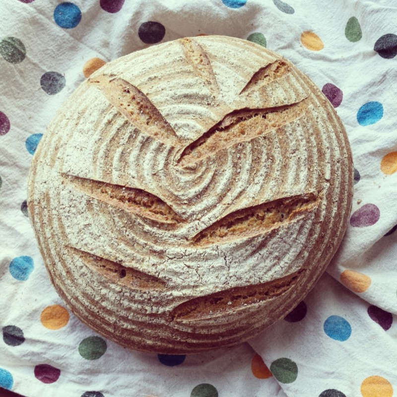 Seeded Sourdough Boule