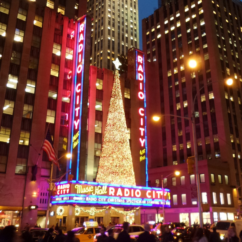 It's beginning to look a lot like Christmas at Radio City
