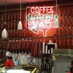Salami heaven at Katz deli