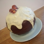 The alternative Christmas Pudding chocolate orange