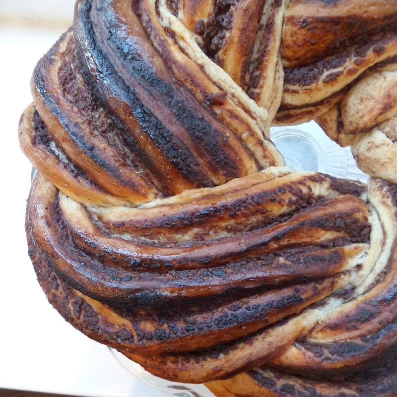 Sweet Chestnut Babka recipe